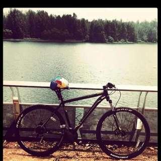 Merida Entry Level Bicycle, Size XL, big nine 100
