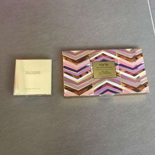 Tarte Clay Play Face Shaping Palette & STILA Heaven's Hue Highlighter