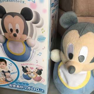 Mickey Mouse Baby Tumbler Toy