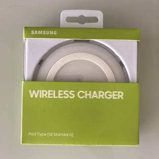 * BRAND NEW* Samsung White Wireless Charging Pad