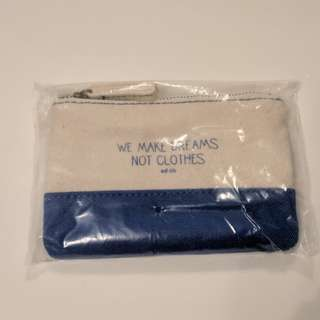 Brand new Adlib coin bag pouch 散紙包 袋仔 we make dream quote