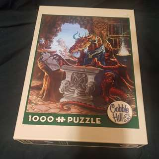 Dungeons & Dragons Dungeon Master 1000 Piece Puzzle