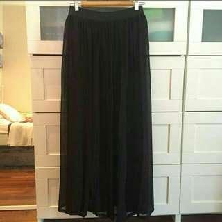 Pleated Flare Princess Skirt