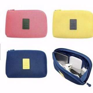 Cellphone Organizer Pouch small YELLOW