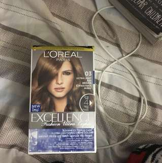 Loreal Paris Excellence Fashion Ultra Lights 03 Ultra Light Ash Brown