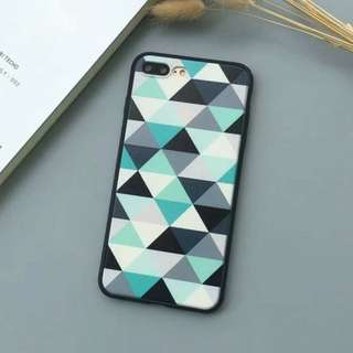 M007 Geometry hard pc Iphone casing cover case Iphone 7 8 plus