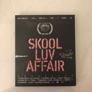 Skool luv affair BTS