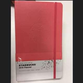 Korea Starbucks 2018 Planner 韓國星巴克記事簿