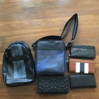 Ready Stock new item Original coach wallet clutch sling bag Messenger bag Handbag