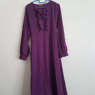 Breastfeeding/ nursing friendly jubah #SpringClean60