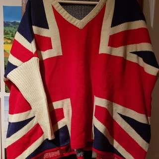 British UK Flag Sweater