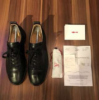Louboutin Louis Junior Men's Flat (size 43.5)