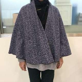 毛衣披風外套,可多變造型款式