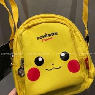 $179 比卡超 斜咩袋 cross body bag 寵物小精靈 pokemon pikachiu