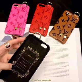 Case iphone LV strap and LV branded case iphone