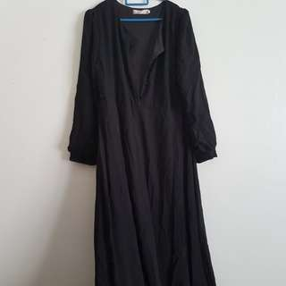 Breastfeeding friendly jubah #15off