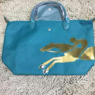 Authentic Longchamp Cavalier Medium Short Handle Bag