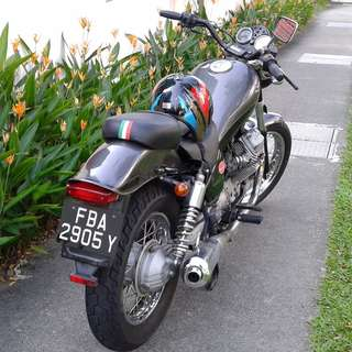 750cc Moto Guzzi Nevada