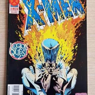 Legion Quest: Uncanny X-Men part 1,2&4