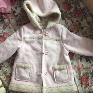 Chickeeduck 粉紅色褸coat