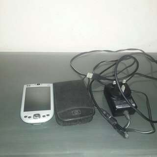 Pre Loved - HP IPAQ Pocket Pc X11-21204 - Comes with Cover And Charger Adapter Only - Battery of the device needs to be replaced.