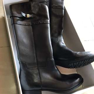 Boots Clark ( mimic dance ) black leather