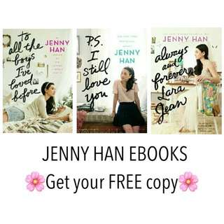 #FREE To All The Boys I've Loved Before Ebook Jenny Han