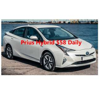 Toyota Prius and hybrid cars for uber