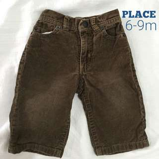 Place corduroy pants