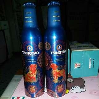 Tsingtao 青島 狗年鋁瓶2款