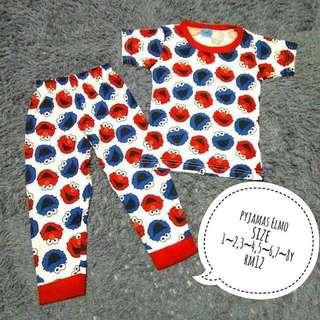 Pyjamas Elmo Super Cute