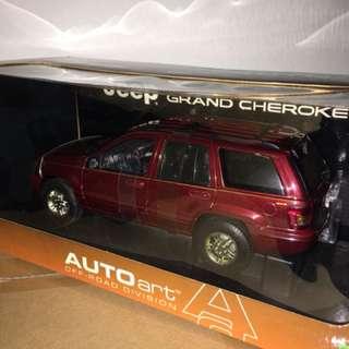 1/18 Jeep Grand Cherokee '99. AutoArt