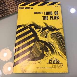 Cliff Notes Lord of the Flies
