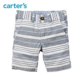 BNWT Carters Grey and white strips Size 90cm 24 months