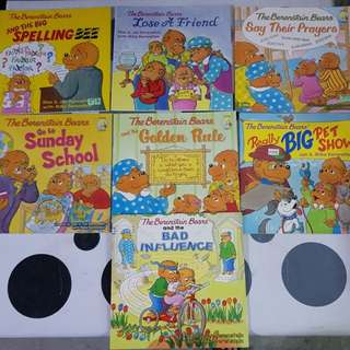 The Berenstain Bears series (7books)