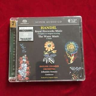 SACD: Handel ( Royal Fireworks Music& The Water Music)