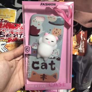 Squishy Cat Case for iPhone 7