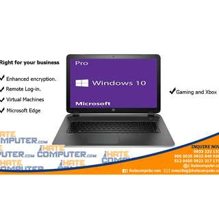 Windows 10 Professional 64bit (box and cd)
