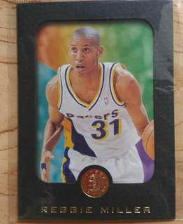 Skybox Basketball Reggie Miller card