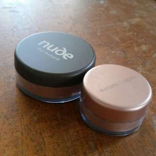 Nude by Nature Bronzer Duo