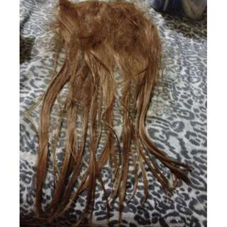 [USED] HAIR EXTENSION BLONDE