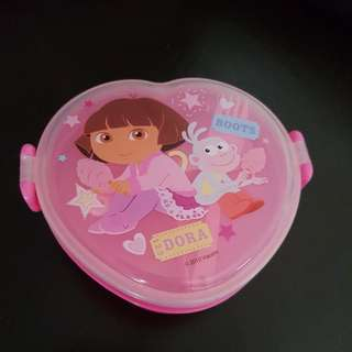 Dora 2 layers lunchbox