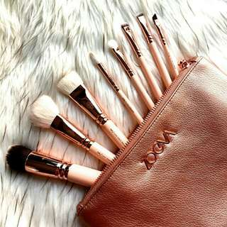 Zoeva brush set softpink.