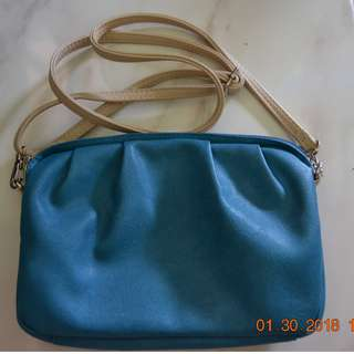 Sling bag blue
