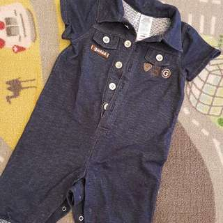Baby Guess Jumpsuit Ori 6 to 9 months