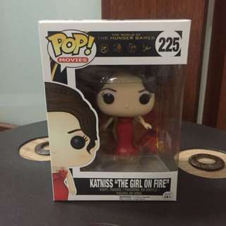 Funko Pop Hunger Games Katniss Girl on Fire