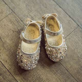 Shimmering Baby Shoes