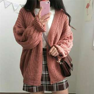Ulzzang Knitted Cardigan