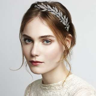 Jennifer Behr Arielle Leaf Headpiece