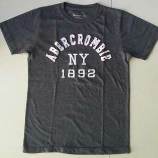 Dark Gray Abercrombie and Fitch Shirt